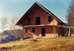 Tretja gradbena faza planinskega doma na Ermanovcu